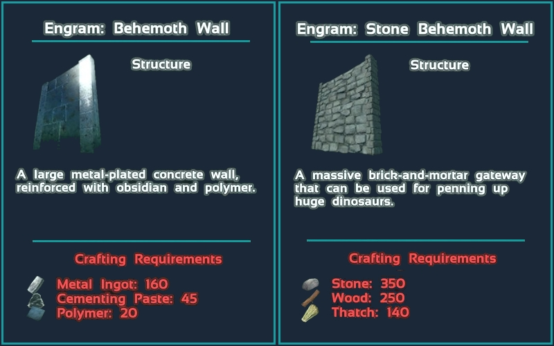 Steam workshop behemoth wall mod cheat giveitem blueprintgamemodsbehemothmodprimalitemstructuremetalbehemothwallimalitemstructuremetalbehemothwall 1 1 false malvernweather Image collections