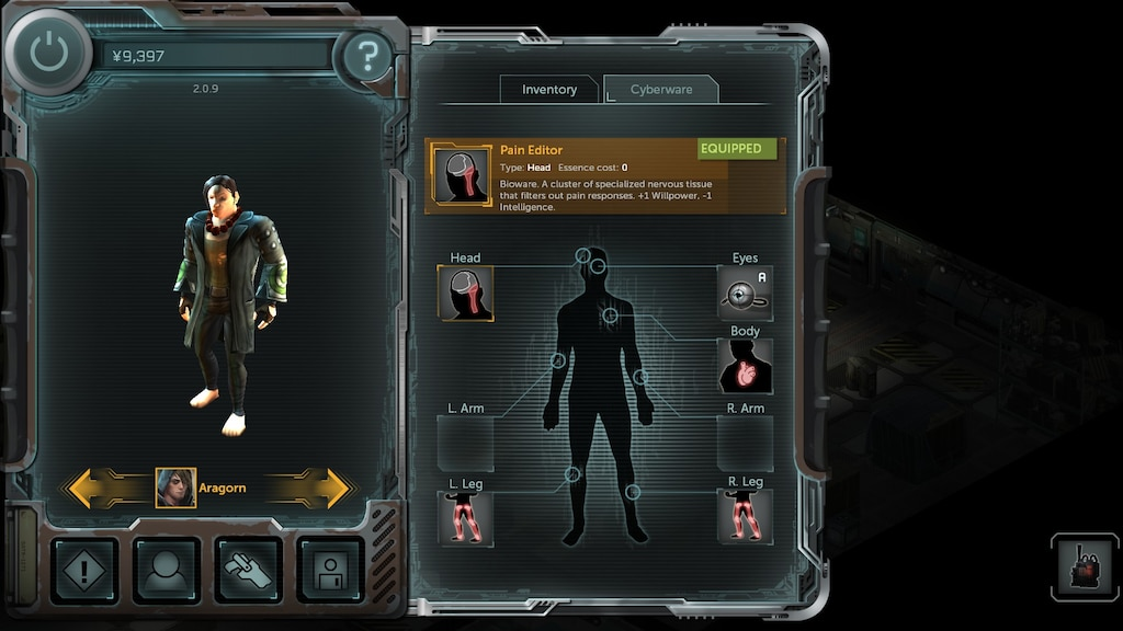 Steam Community Screenshot Final Human Adept Build Cyberware