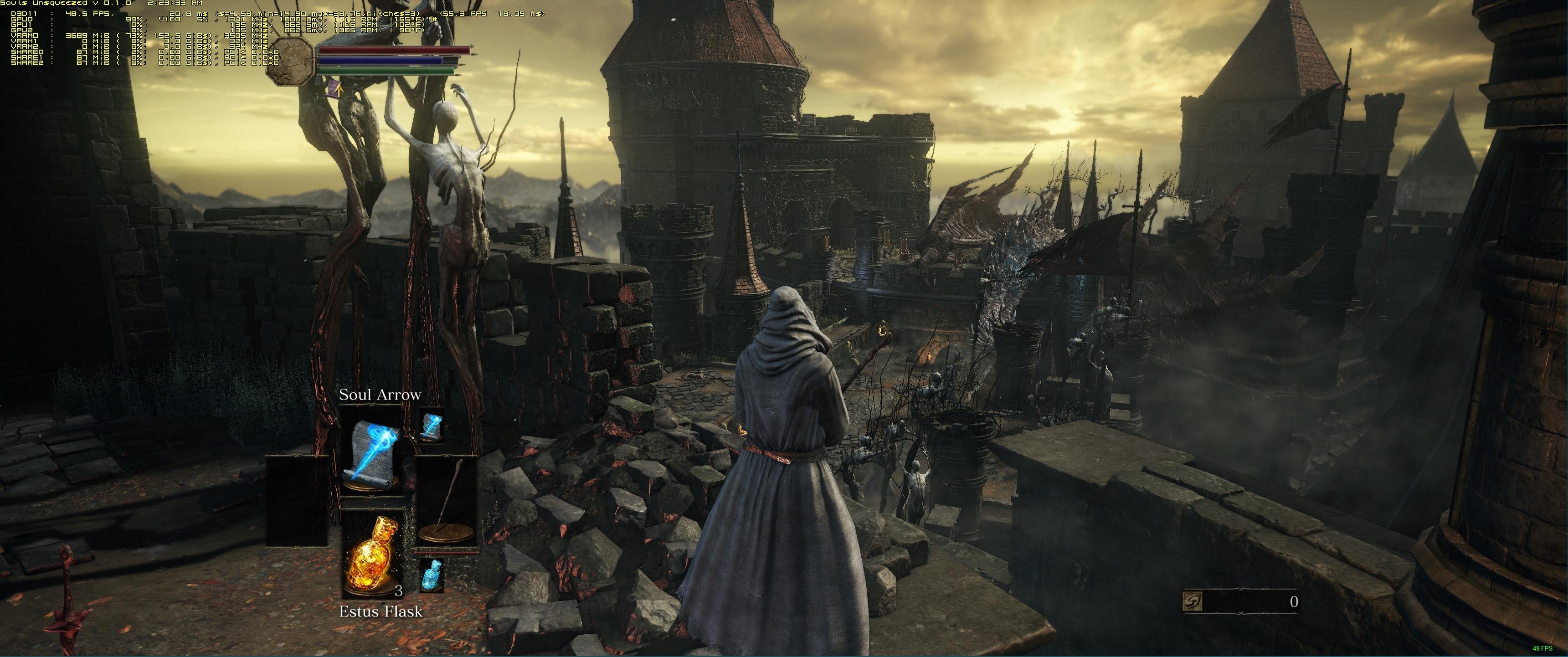 """Dark Souls 3 21 9: Steam Community :: Guide :: Souls """"Unsqueezed"""""""
