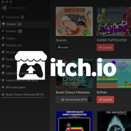 Steam Greenlight :: itch - The itch io desktop app