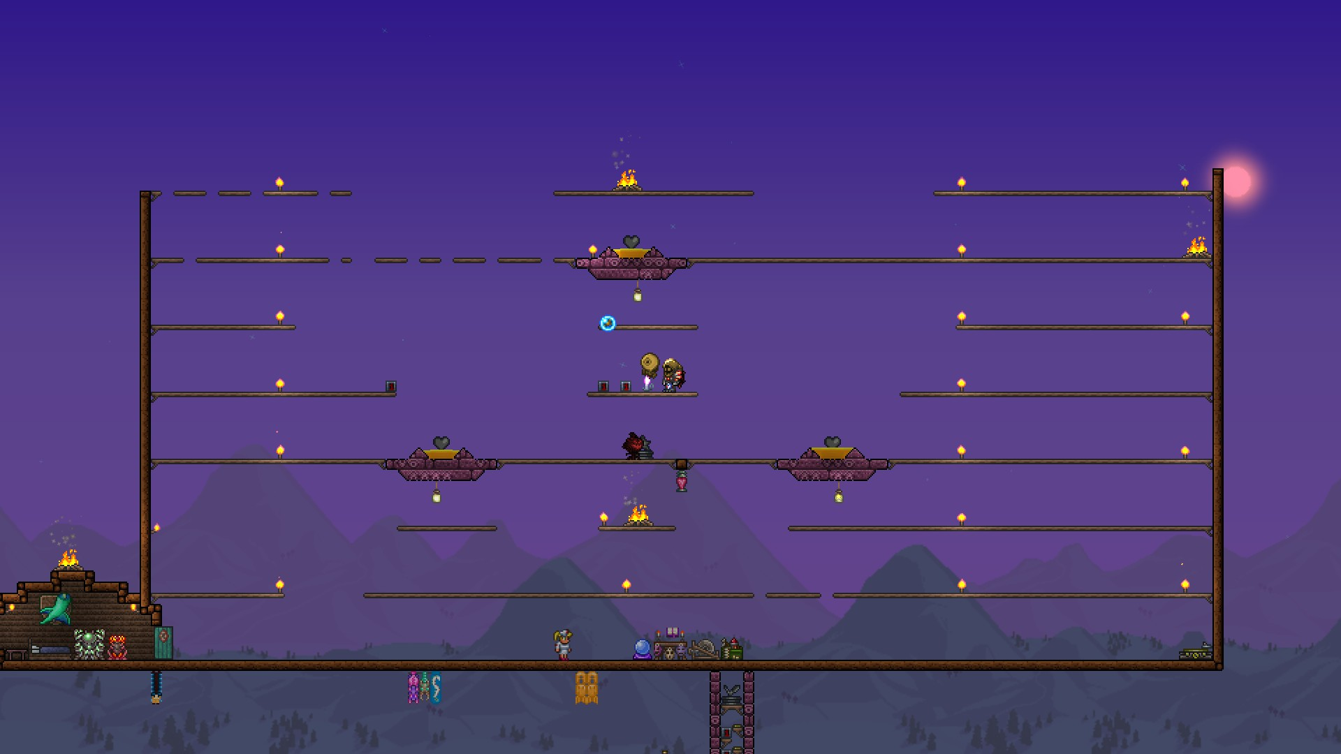 Steam Community Guide Expert Moon Lord Strategy Wiring Terraria The Arena Is A Big One And Has Many Things Required To Make It Work I Will Give You An Image Should Try Copy