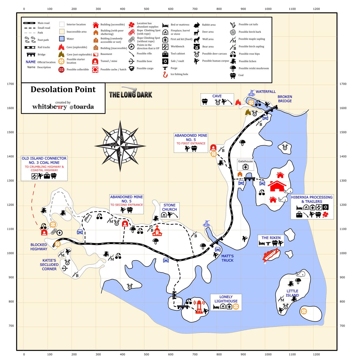 Steam Community  Guide  Detailed Region Maps  The Long Dark