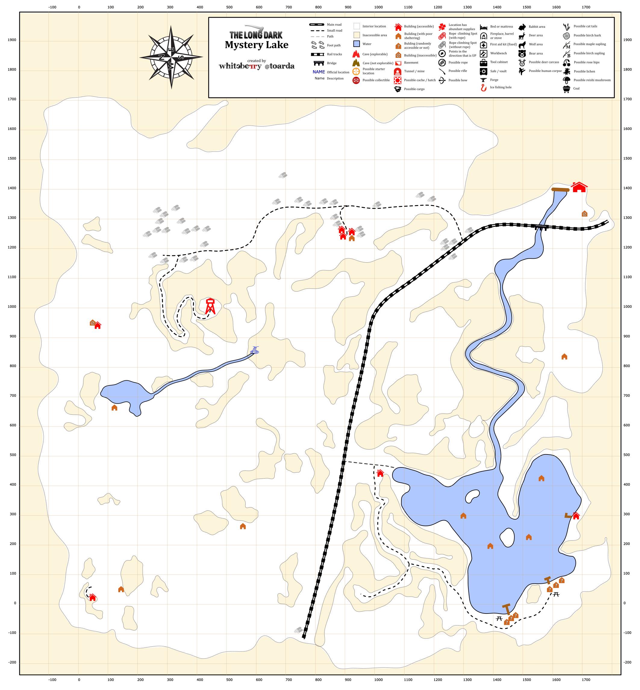 Worksheet. Steam Community  Guide  Detailed Region Maps  The Long Dark