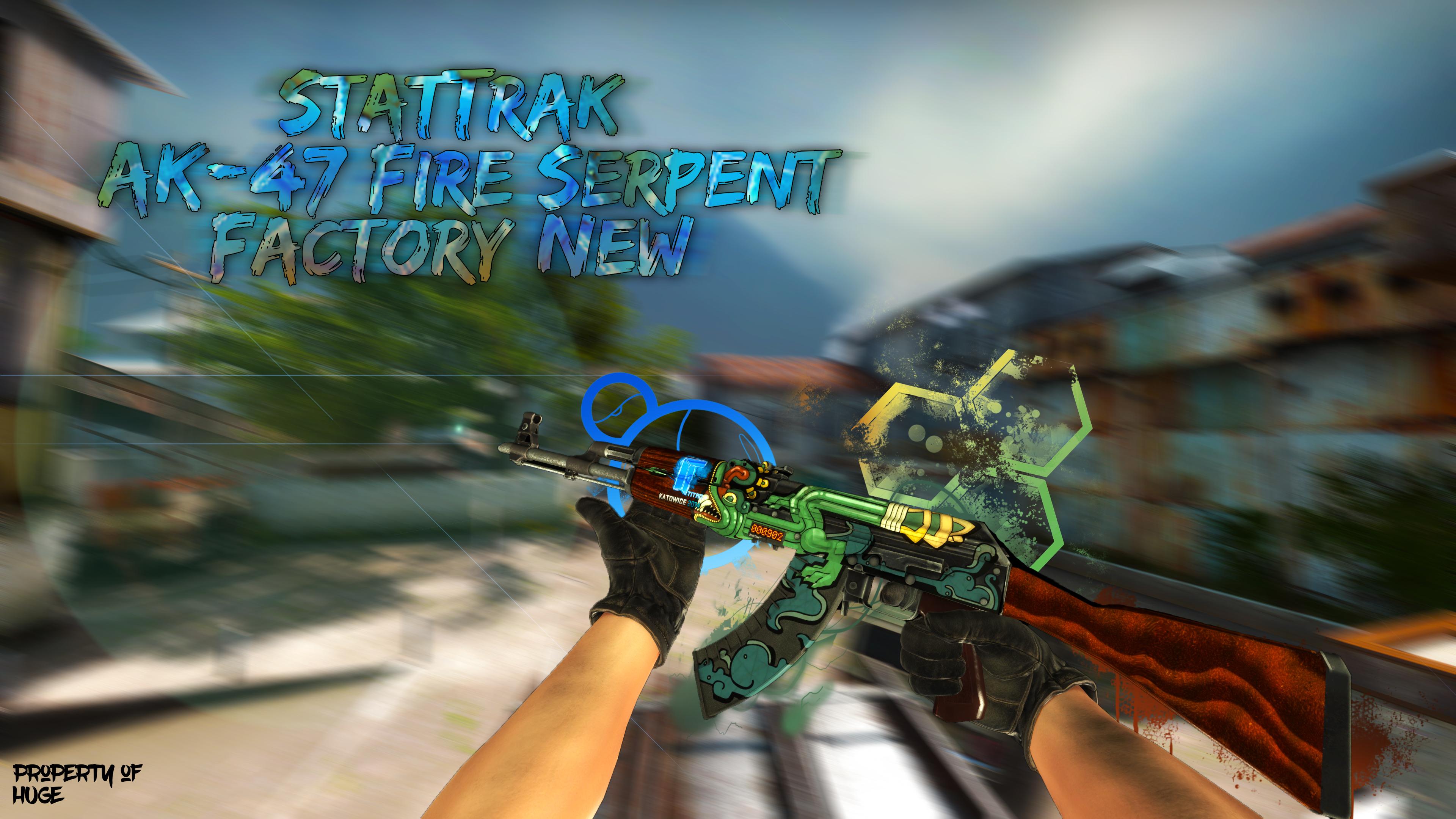 steam community screenshot stattrak ak 47 fire serpent