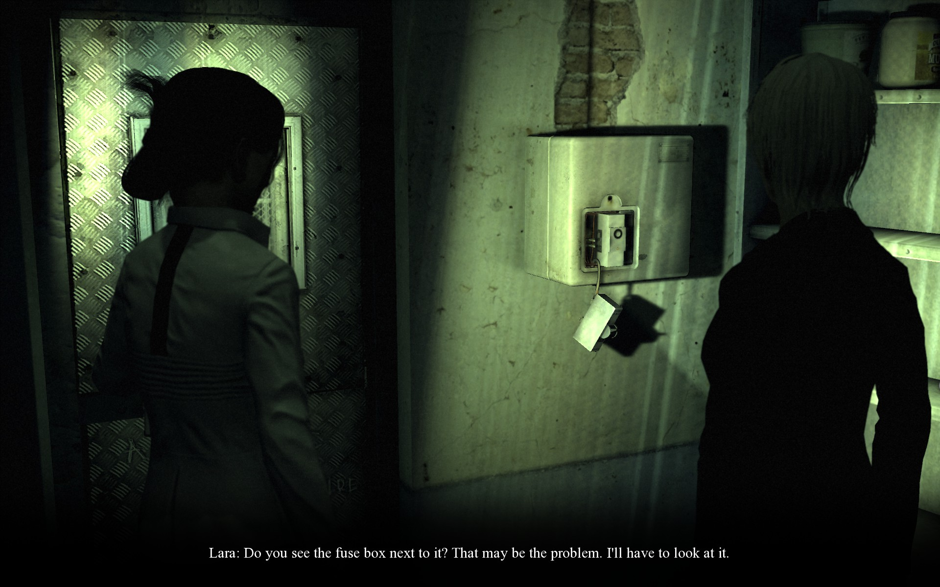 Steam Community Guide Memento Mori 2 Walkthrough Act 4 Part Two Broken Fuse Box The Is Lara Needs To Fix It