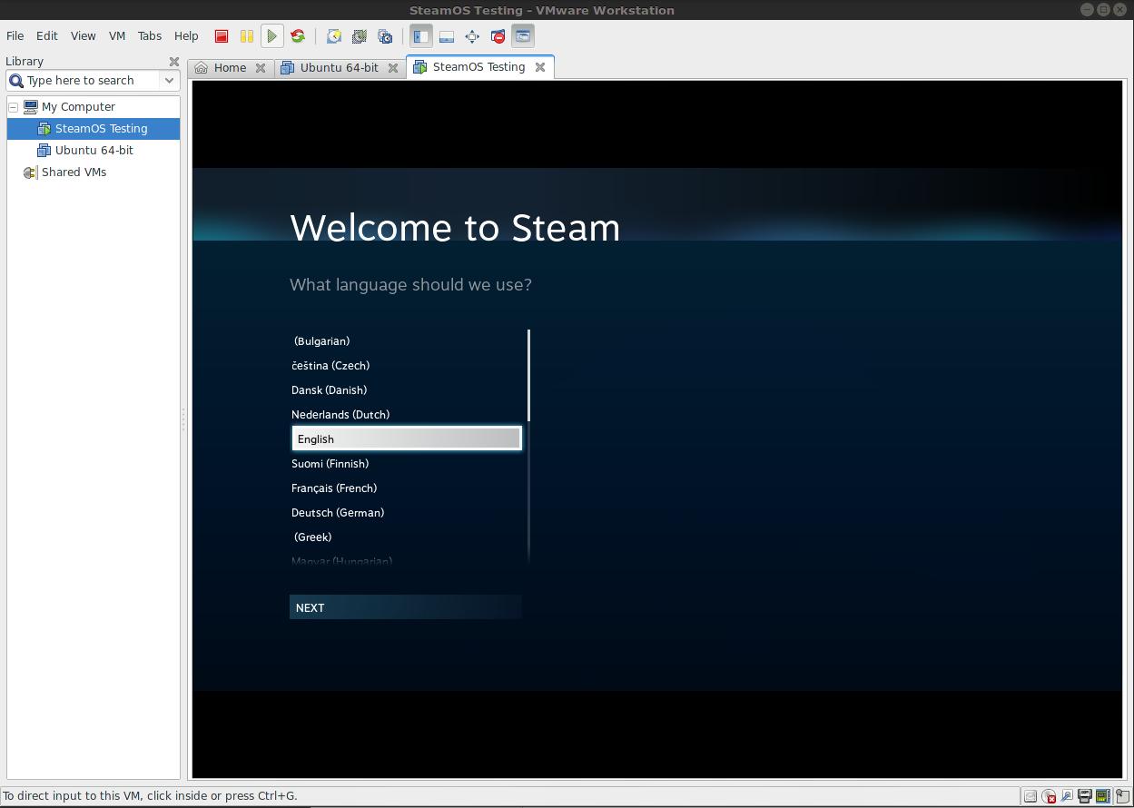 Steam Community :: Guide :: [SteamOS] Installation on VMware