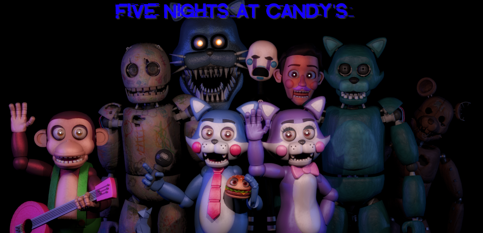 Steam Workshop :: Five Nights At Candy's Models (Source Film