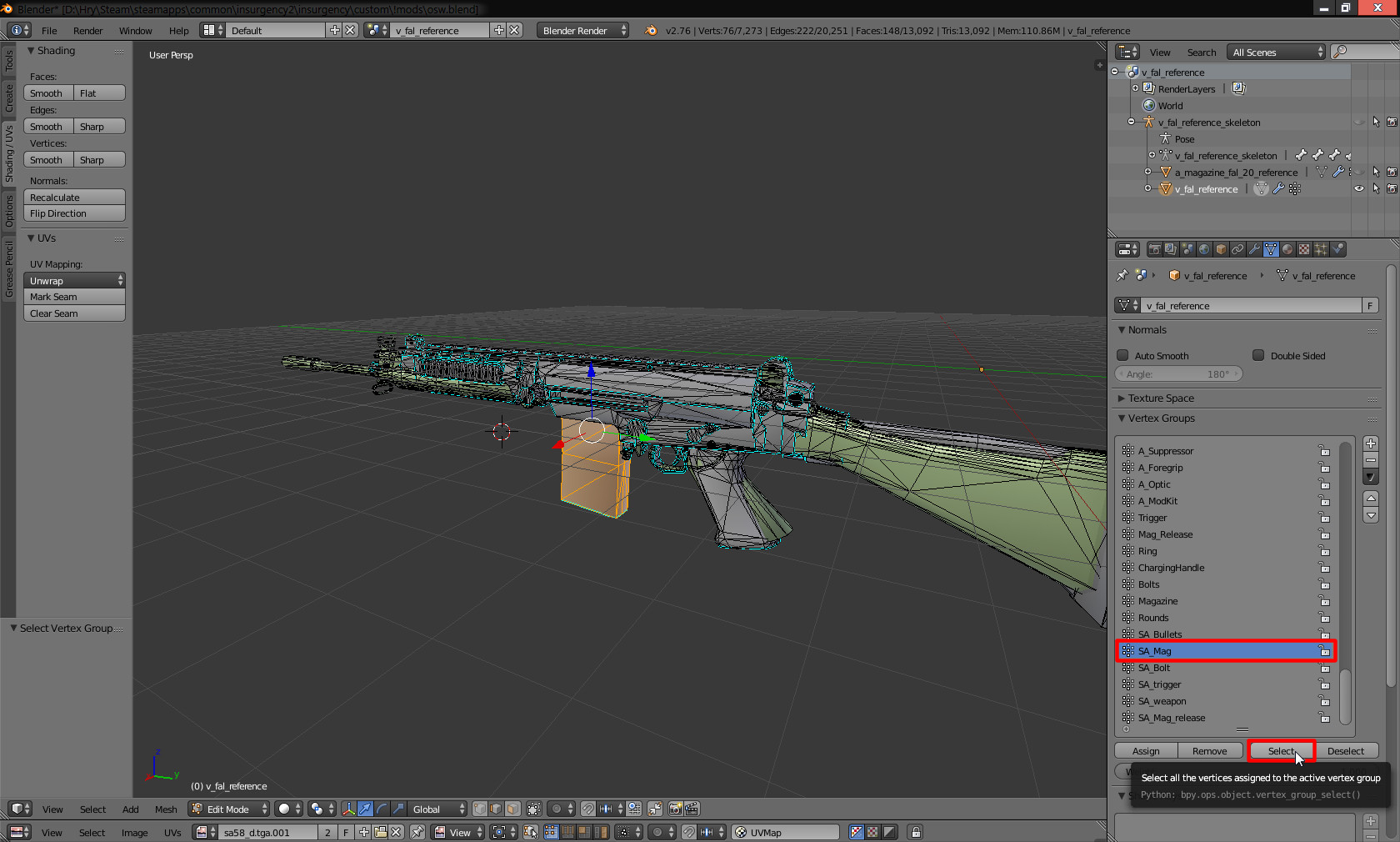 Steam Community :: Guide :: Insurgency weapon modding tutorial (not
