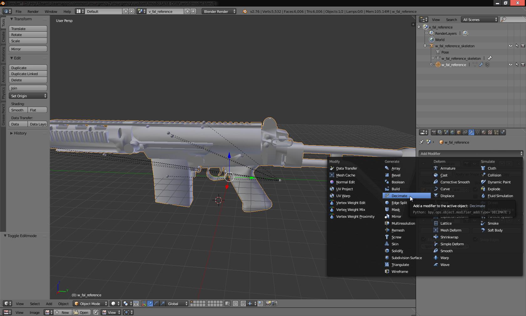Steam Community :: Guide :: Insurgency weapon modding