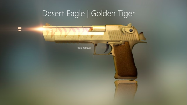 Steam Workshop Desert Eagle Golden Tiger