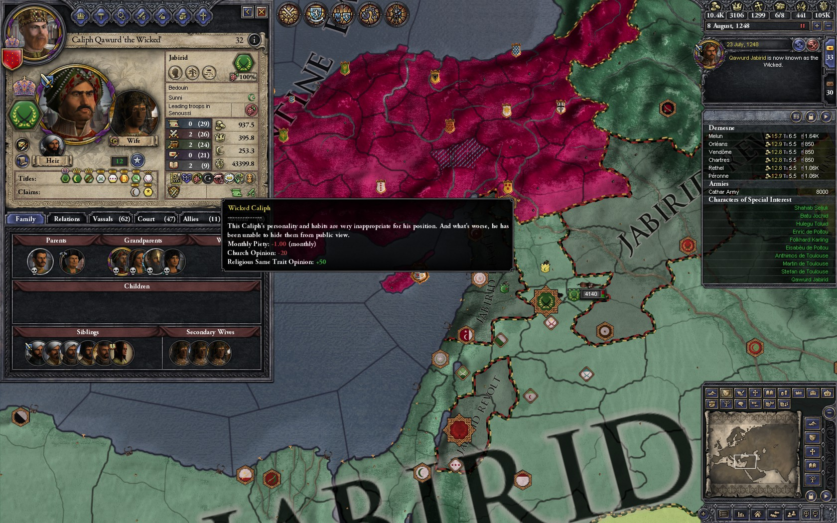 Steam Community :: Screenshot :: The imbecile wicked caliph... He didn't  last long