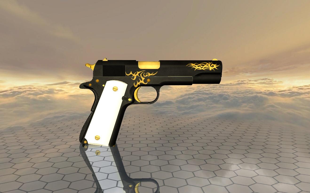 Steam Community :: Black & Gold Colt 1911 :: Comments