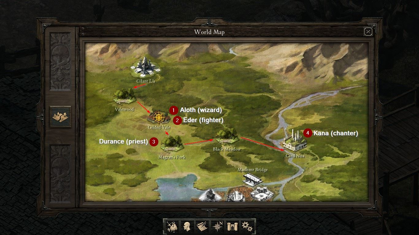 Mapa Pillars Of Eternity.Soobshestvo Steam Rukovodstvo Getting All Companions As