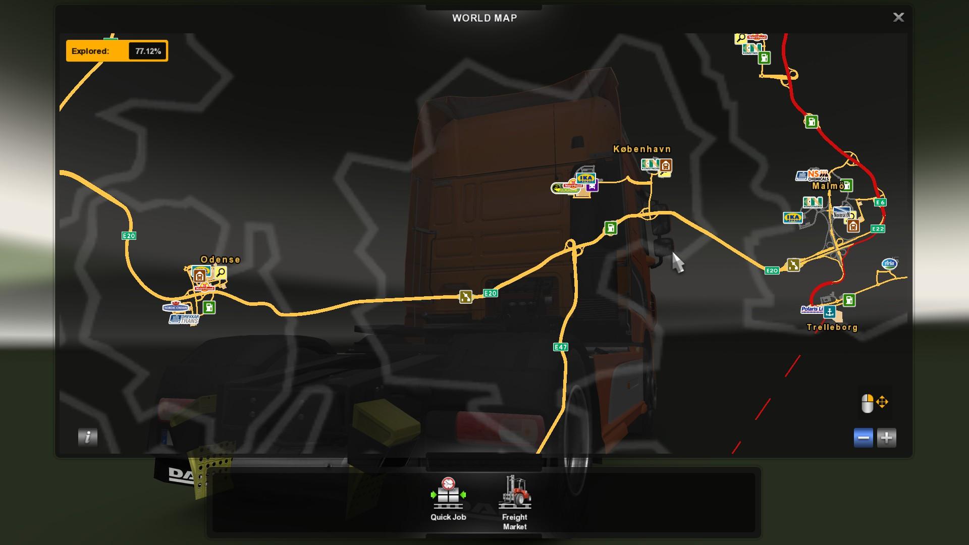 euro truck simulator 2 website