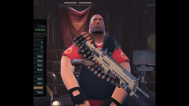 steam workshop heavy weapons guy character option mod