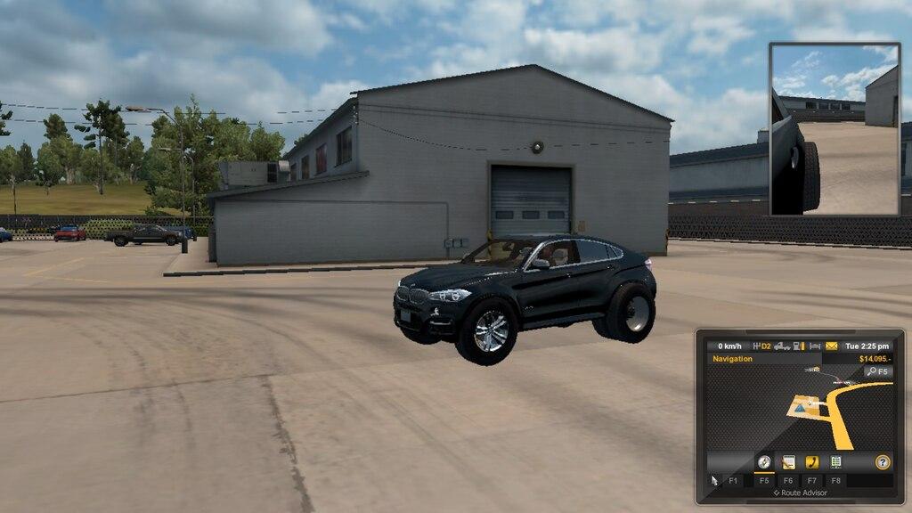 Steam Community :: Screenshot :: BMW X5 with semi truck