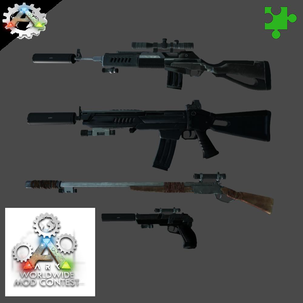 Steam workshop multi weapon attachments tranq rifle malvernweather Gallery