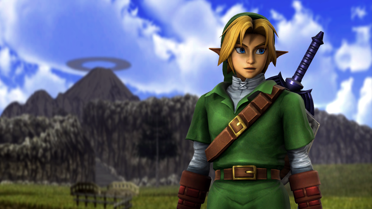 Steam Workshop Hyrule Warriors Project M Ocarina Of Time Link