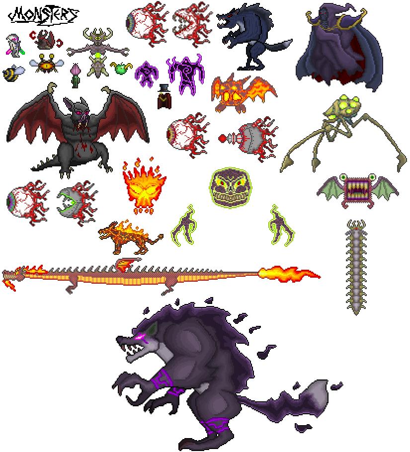 Steam Topluluğu :: :: Monster Sprite Sheet