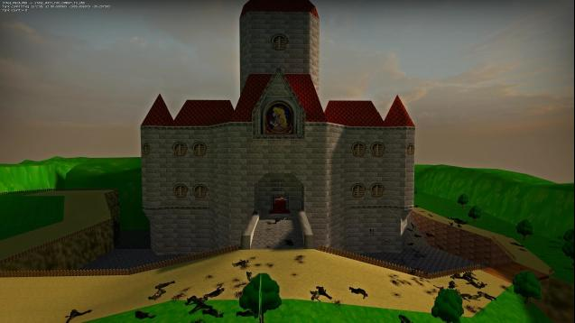 Steam Workshop :: Super Mario 64 Castle Survival