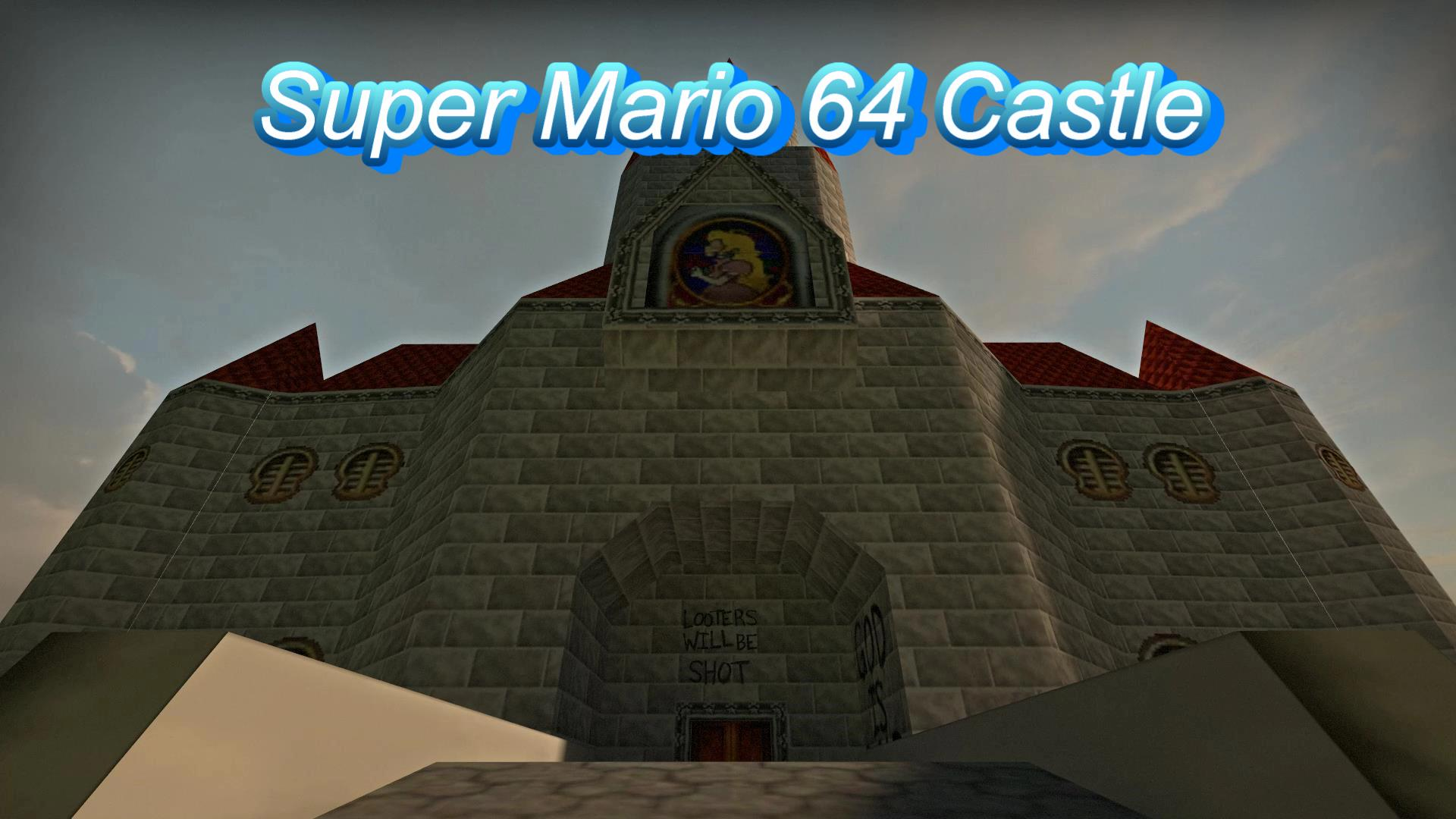 Steam Workshop :: Super Mario 64 Castle Survival