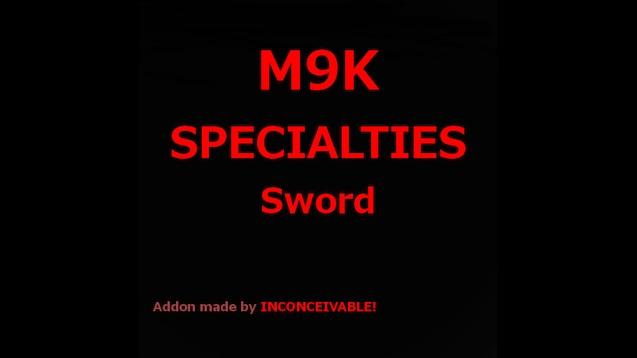 Steam Workshop :: Damacus Sword From M9K