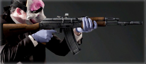 payday the heist weapons