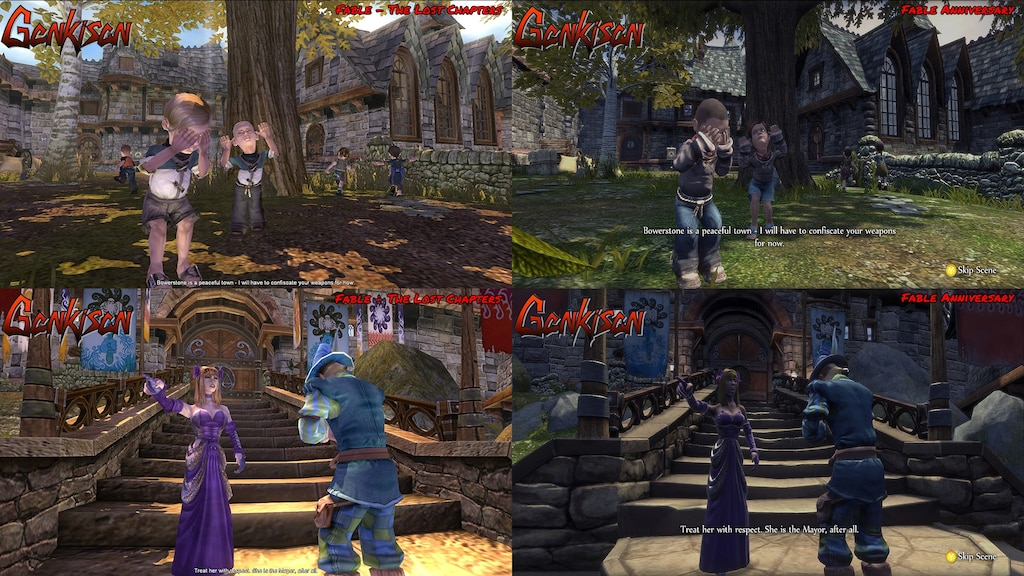 Comunidad Steam Fable The Lost Chapters Vs Fable Anniversary