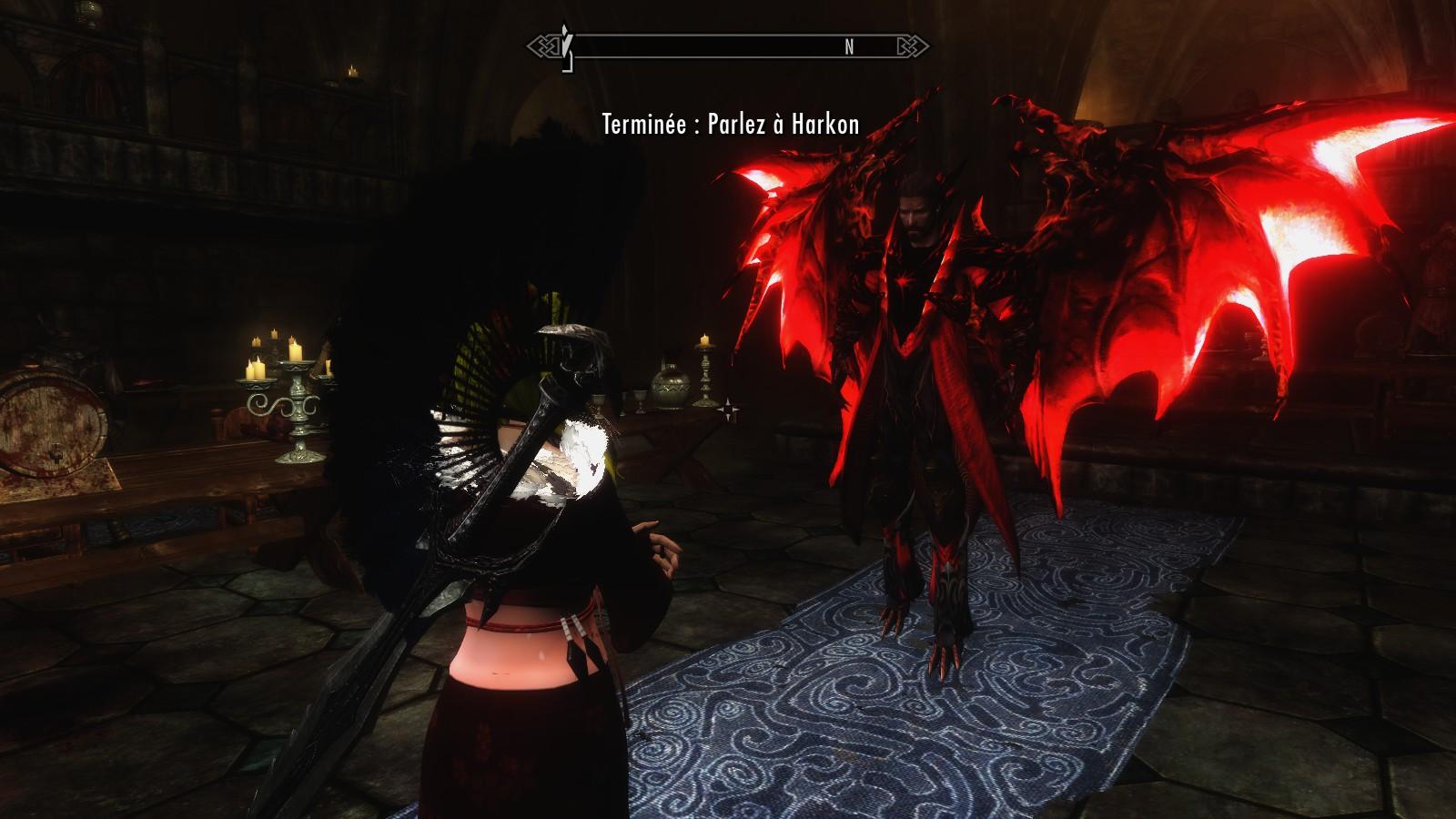 skyrim how to kill vampire lord