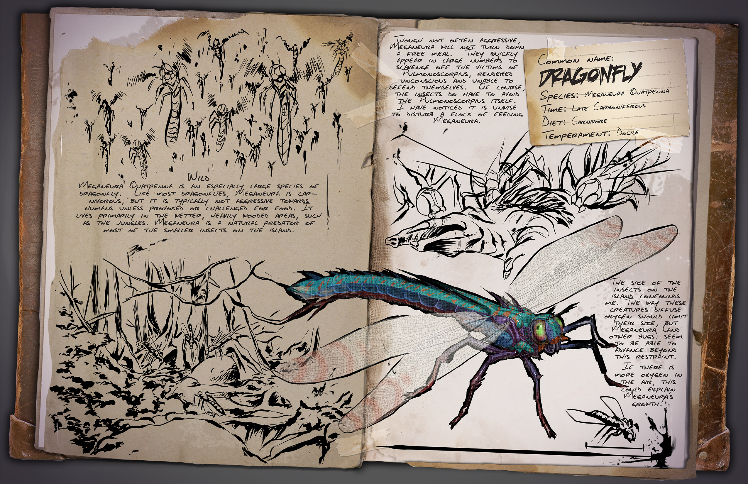 ARK: Survival Evolved :: Jurassic ARK U2013 Day Two: The Jurassic Was A Time Of  Huge Insects.