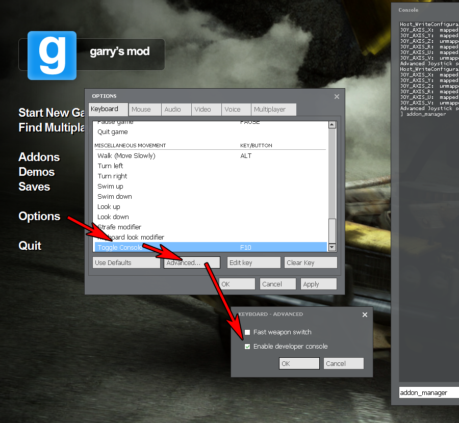 Steam Community :: Guide :: Simple Addon Manager II
