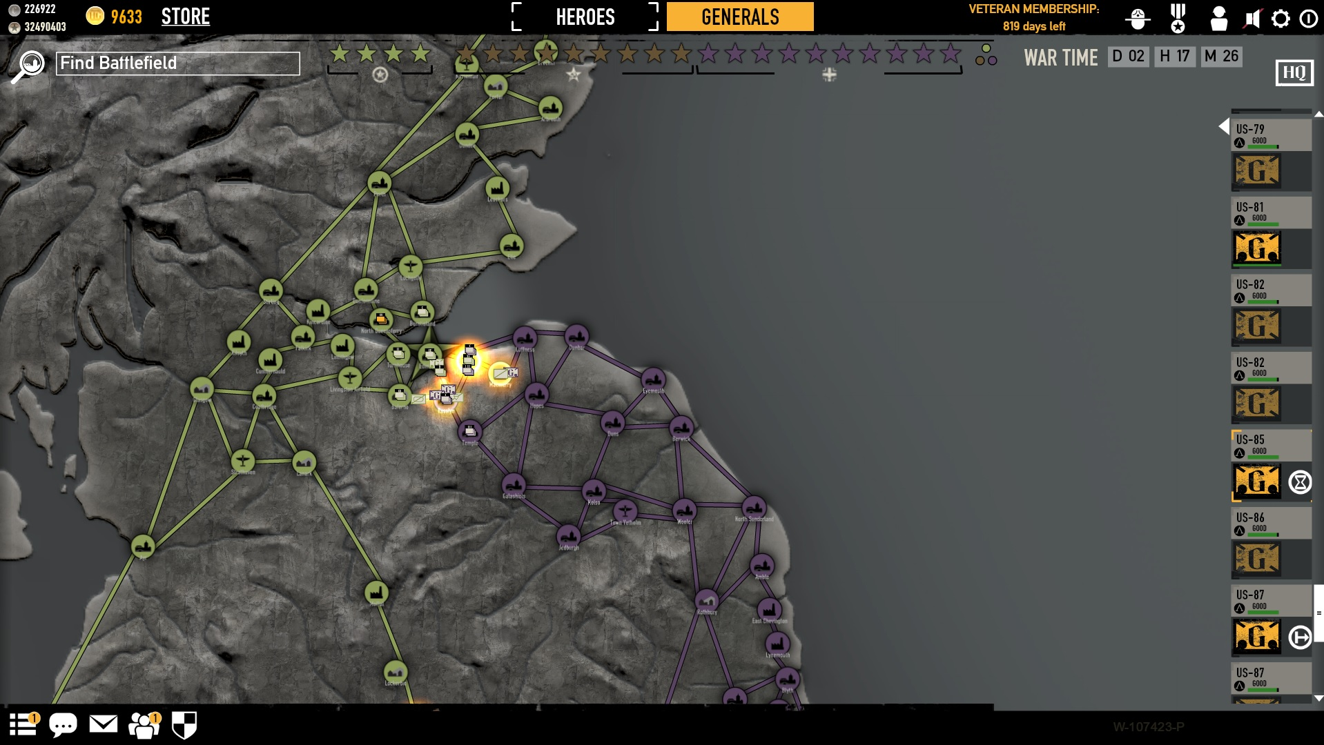 how to join a game in heroes and generals