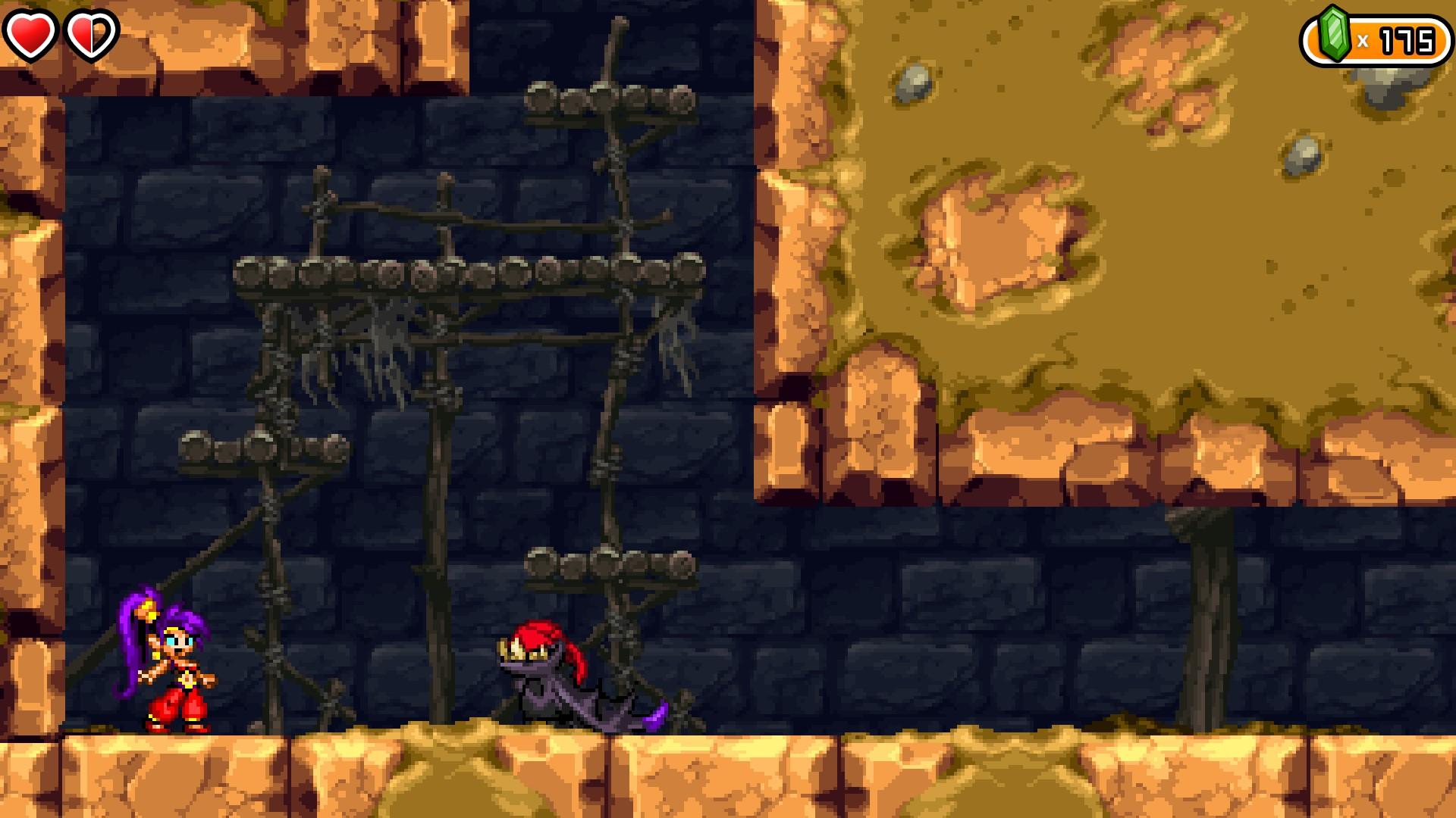 Shantae And The Pirate S Curse Tan Line Island Dark Magic