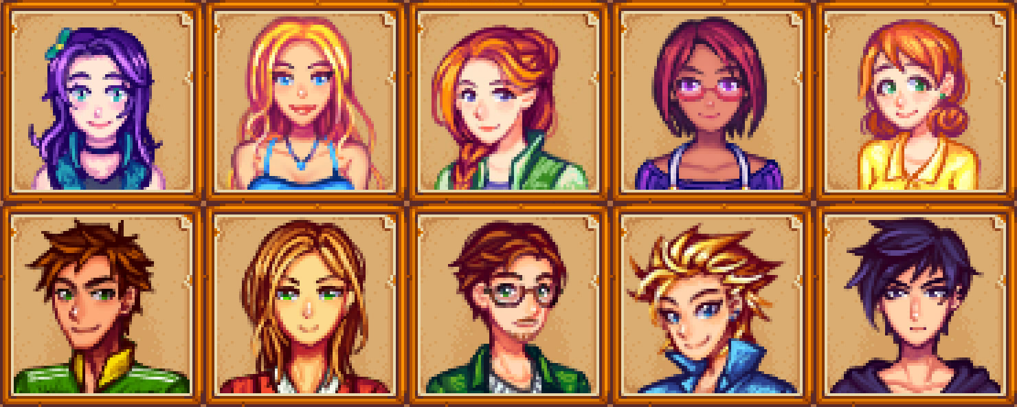 Steam Community :: :: [MOD] All Marriage Candidates Portraits