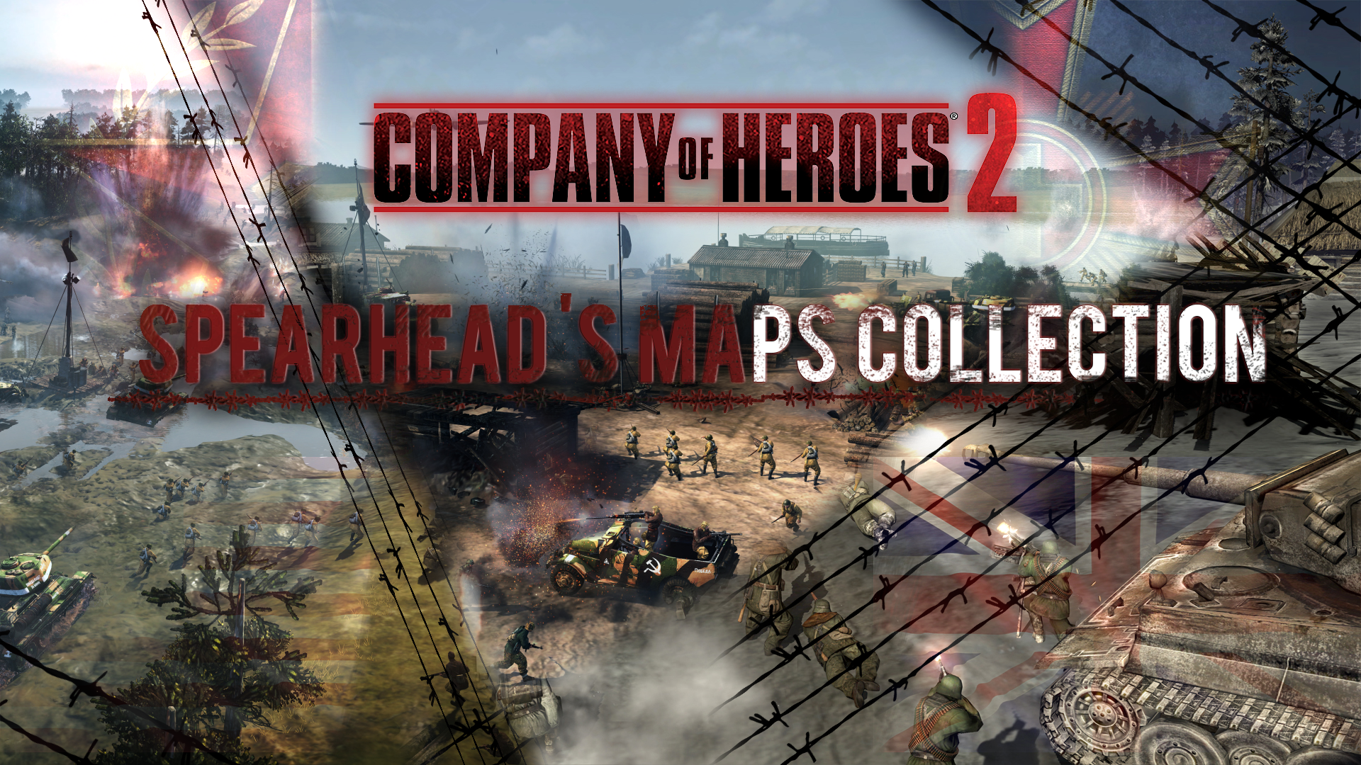 Steam Workshop Spearhead Company Of Heroes 2 Spearhead Mod Maps