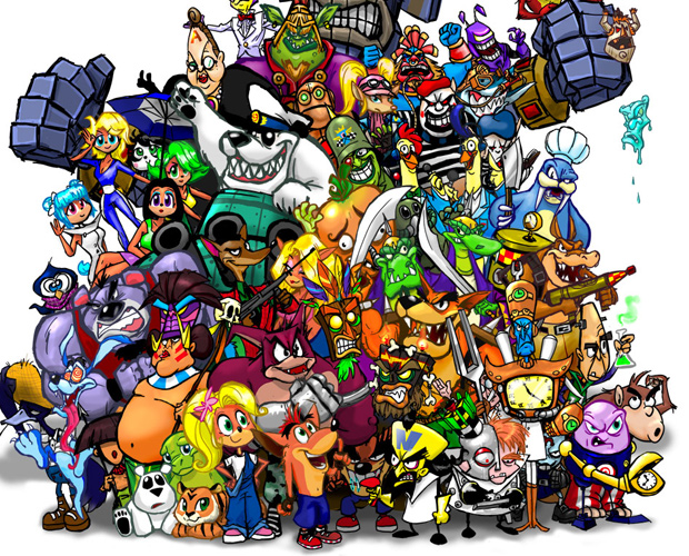 steam community crash bandicoot characters