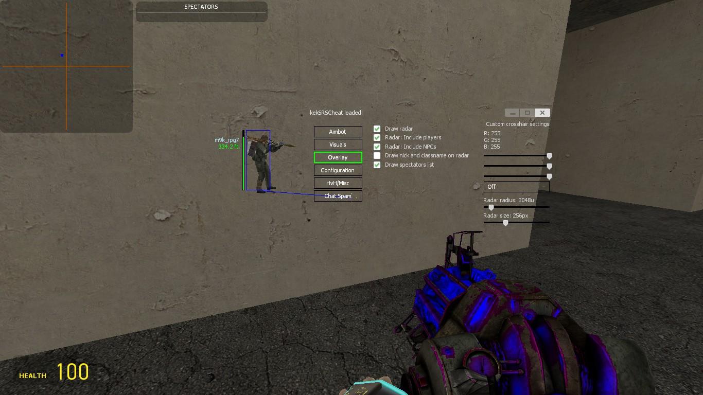 gmod aimbot script