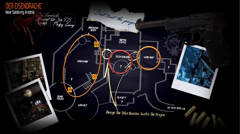 Steam community guide der eisendrache all secrets eastereggs each part is located all over the map in different areas the part spawns randomly in one of three locations but always in their main area freerunsca Image collections