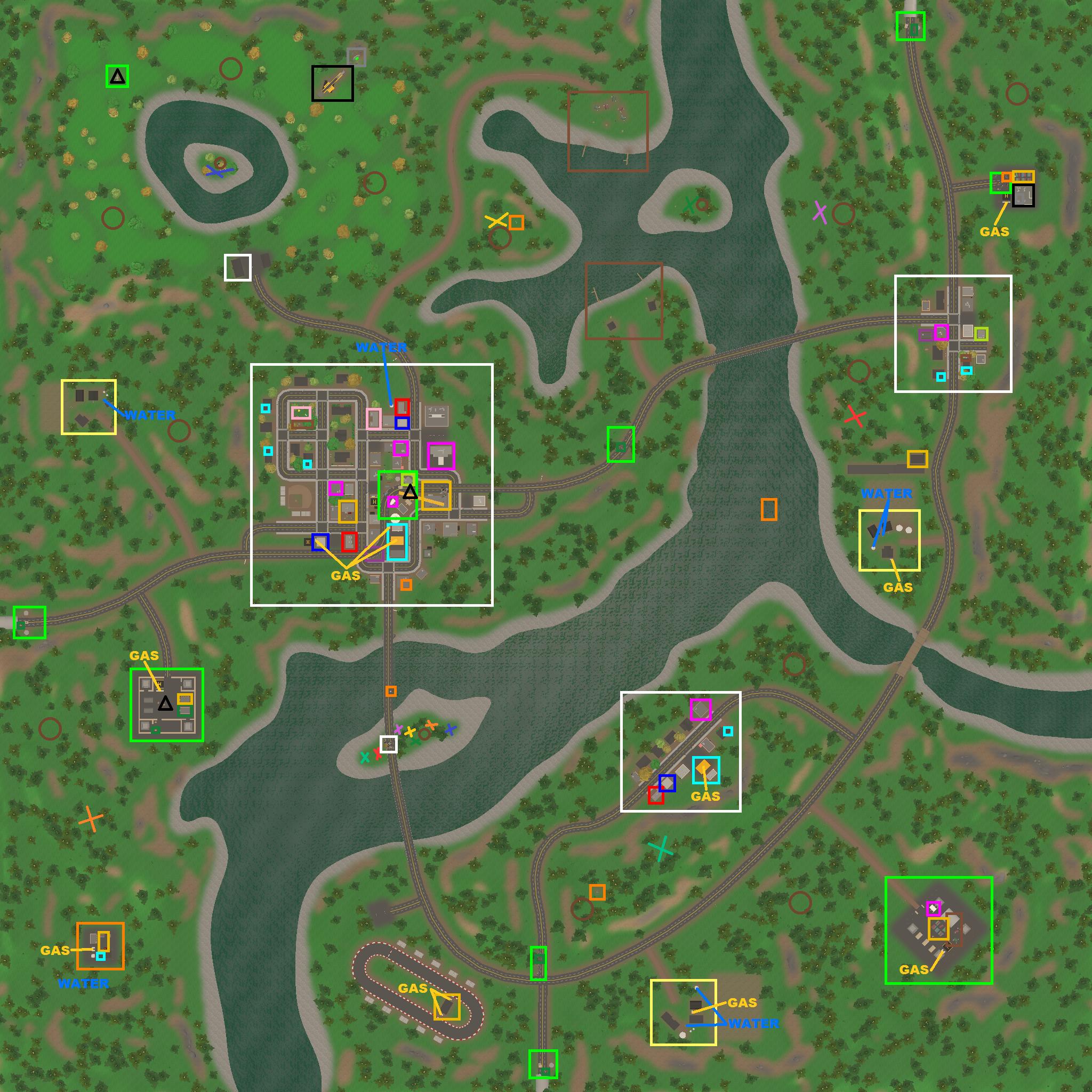 Steam Community :: :: Unturned 3.0 Spawns Map : Washington