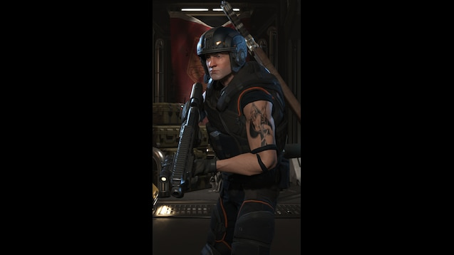 Steam Workshop :: Starcraft 2 - Tychus Tattoo