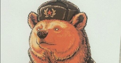 картинки медведь в шапке