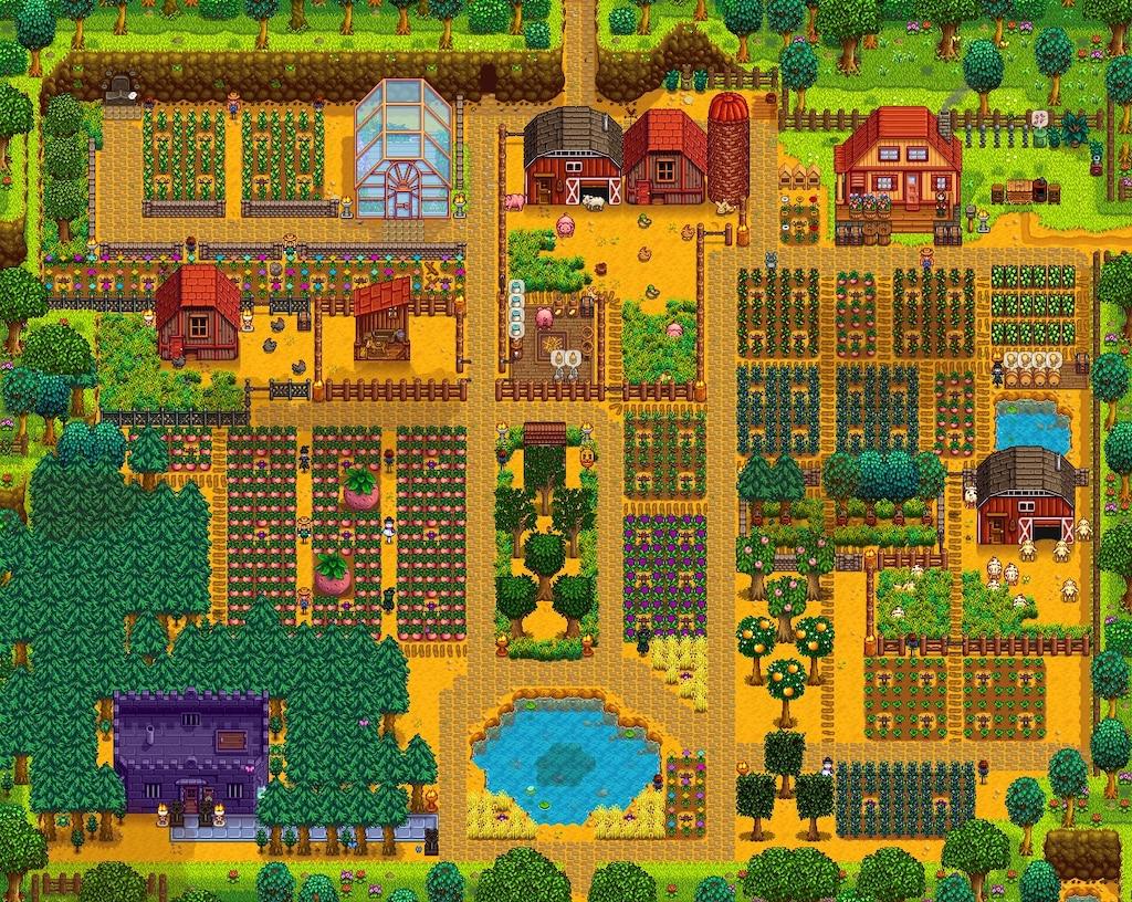 Steam Topluluğu :: :: My full summer farm
