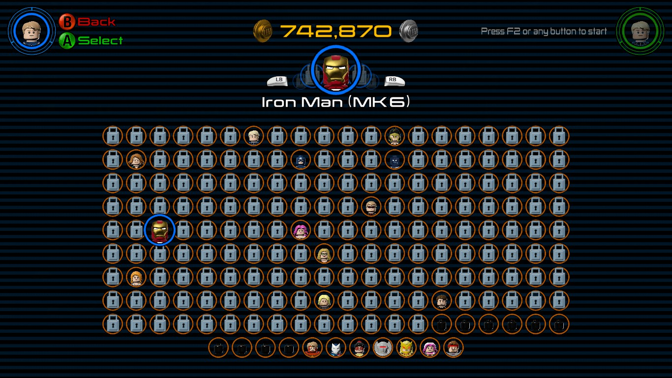 lego marvel avengers how to change characters in free roam