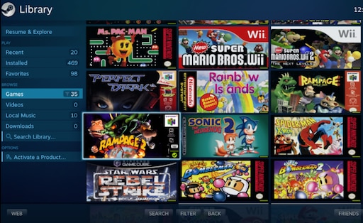 Steam Community :: Guide :: How to launch emulator games from Big