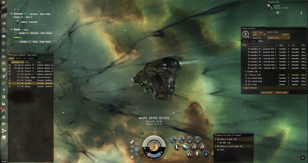 Steam Community :: Screenshot :: My first flight with Dominix