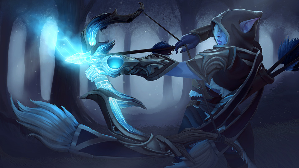 Steam Workshop Teardrop Of Winterwood Drow Ranger Set