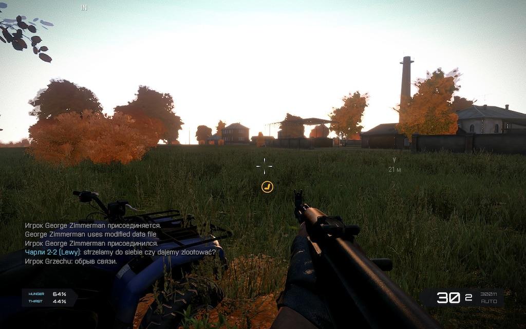 Steam Community :: Screenshot :: Кабанино! Ак 47  с транспартом