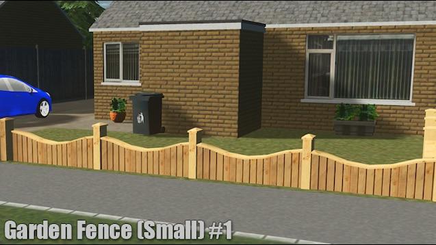 Steam Workshop Garden Fence Small 1