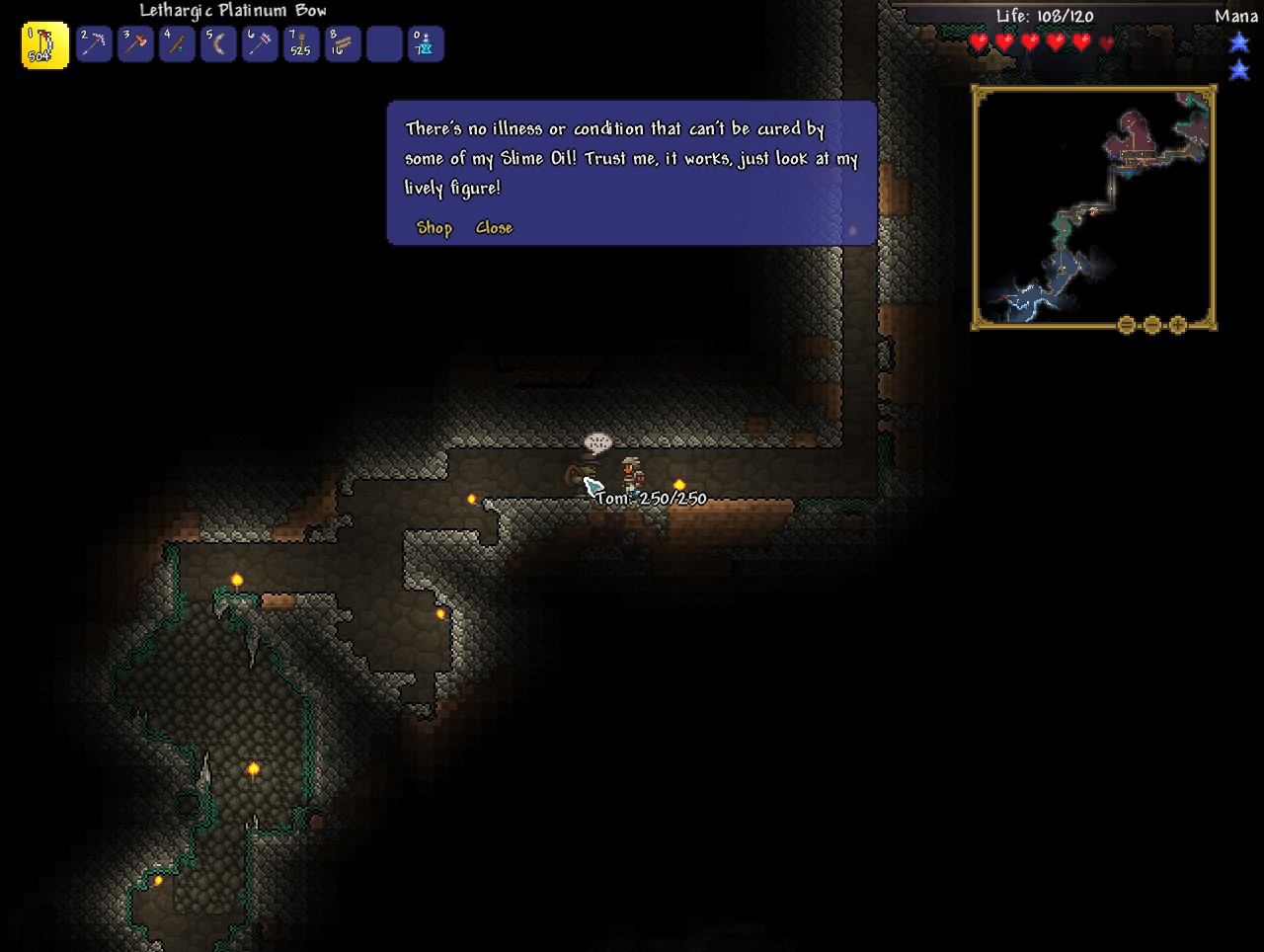 Steam Community Guide Lord S Guide To Terraria Survival Mining