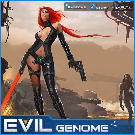 Evil Genome (USA) PC PS4 PC Xbox360 PS3 Wii Nintendo Mac Linux